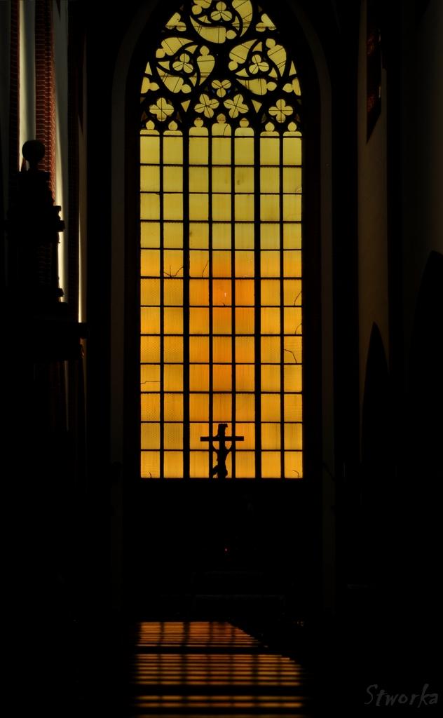 Wrocław - kościół - okno