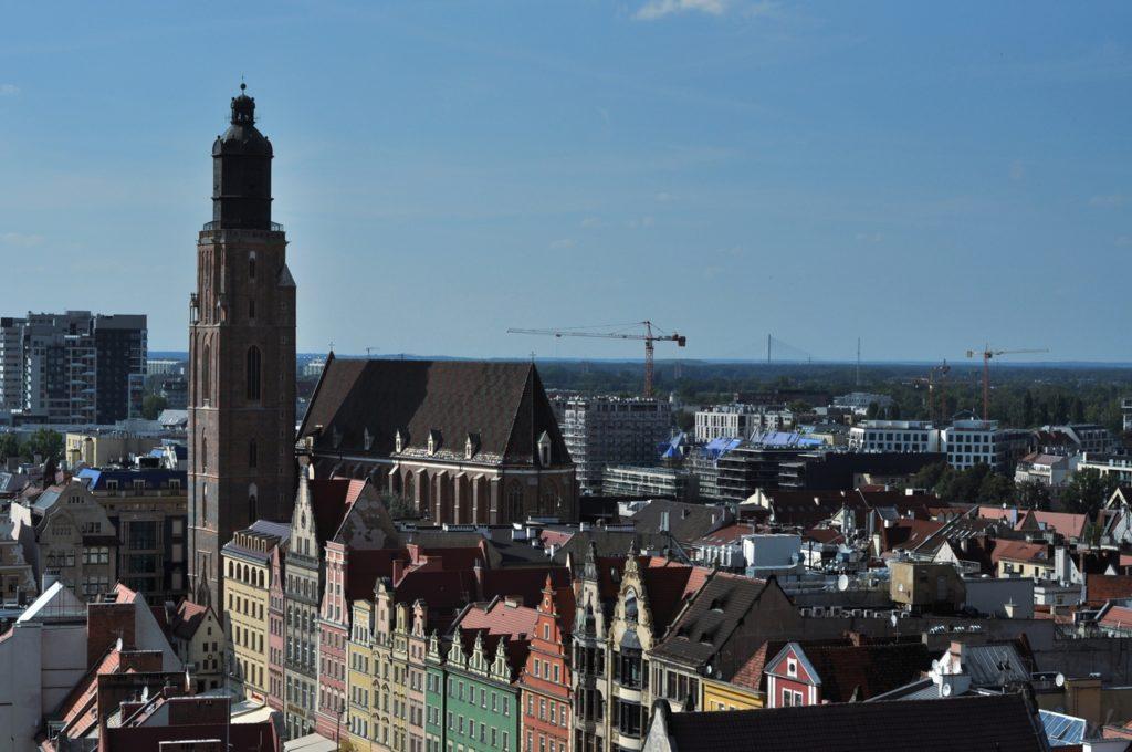 Wrocław - widok z Mostu Czarownic