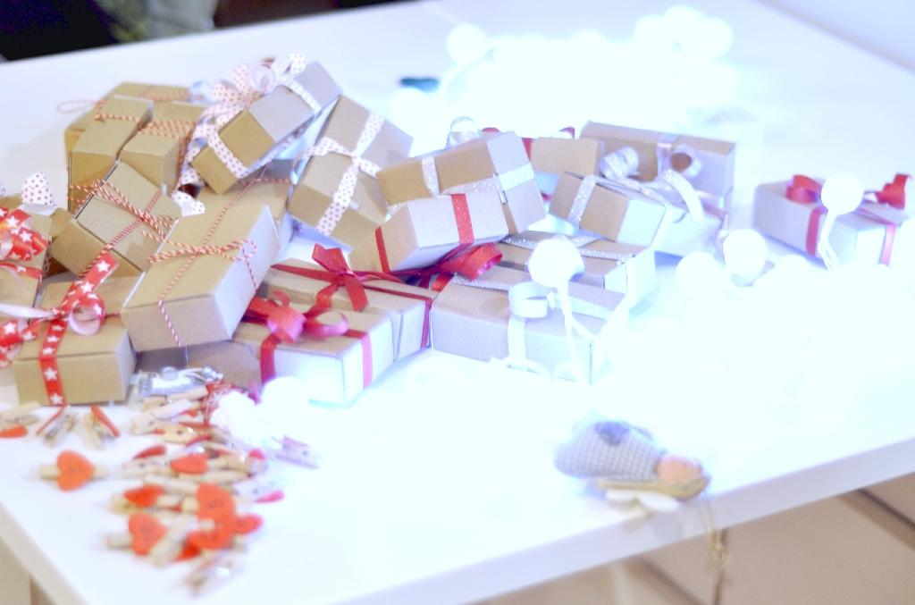 Kreatywny grudzień - pudełeczka do kalendarza